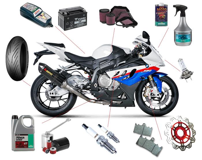 Moottoripyörän akun vaihto