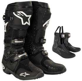 Alpinestars crossisaappaat Tech 10 musta 2013