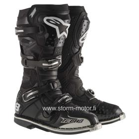 Alpinestars Tech 8 RS crossisaappaat musta
