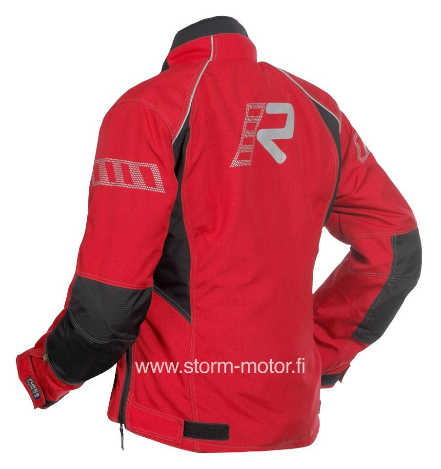 Rukka Salli Gtx Lady Jacket Red - Clothing and apparel - Storm Motor a1e6097db1