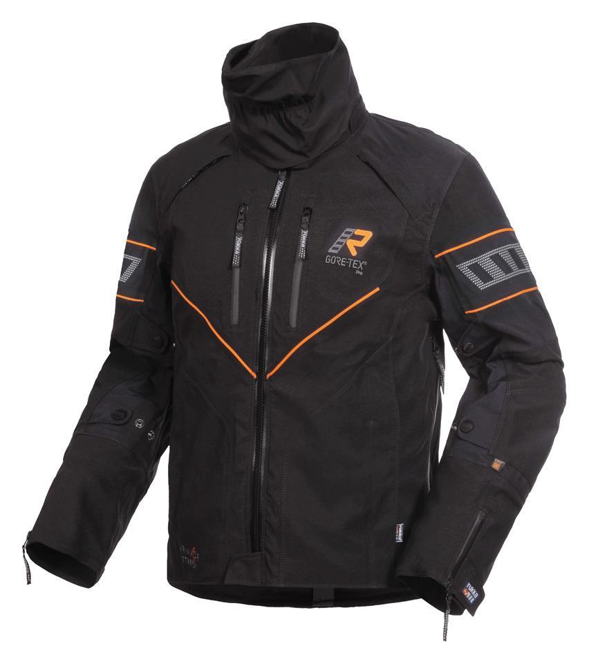 Rukka Realer Arma Protection takki musta oranssi - Ajovarusteet ... d799e75059