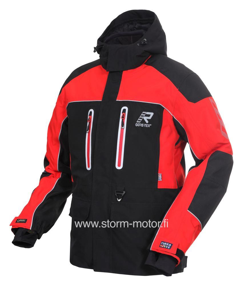 Rukka Svante GTX kelkkatakki puna musta - Ajovarusteet - Storm Motor 8d371e620d