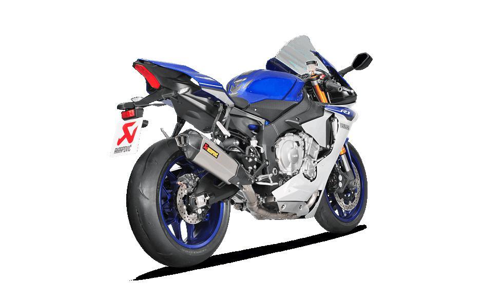 Akrapovic Racing Line Titanium - Universal parts and