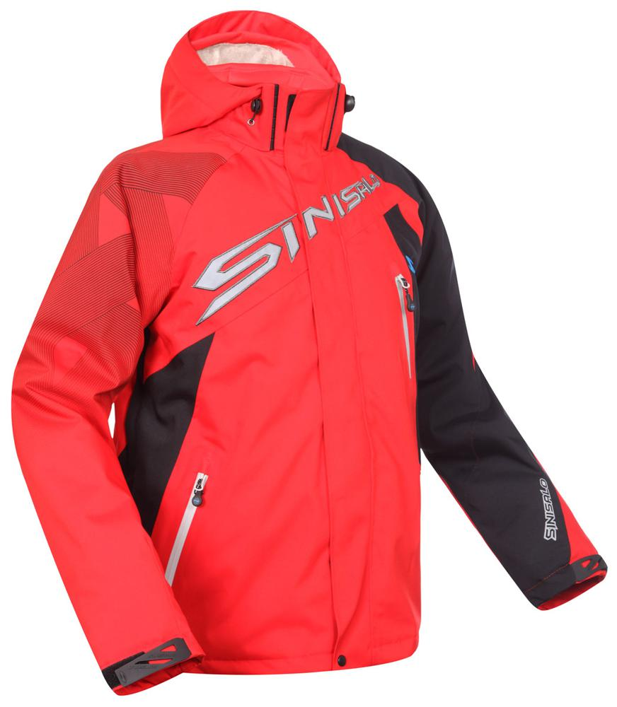Sinisalo Valli kelkkatakki punainen - Ajovarusteet - Storm Motor bfe2aaf99d