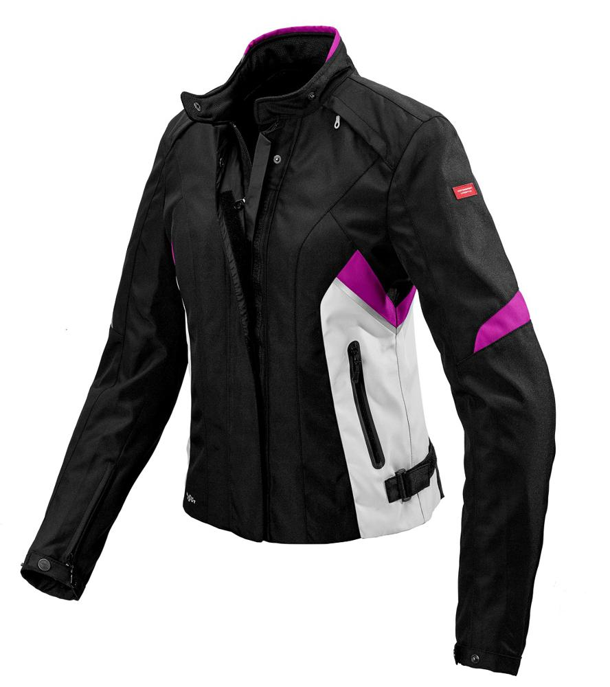Spidi Flash H2Out naisten ajotakki musta fuksia - Ajovarusteet ... cbc5465a6b